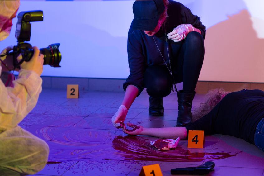 suicide crime scene