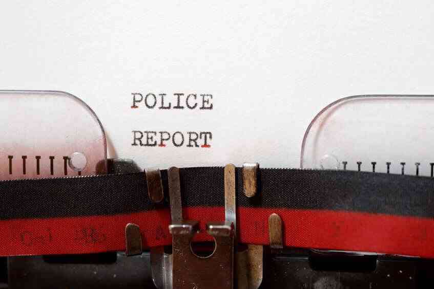incident report writing police exam