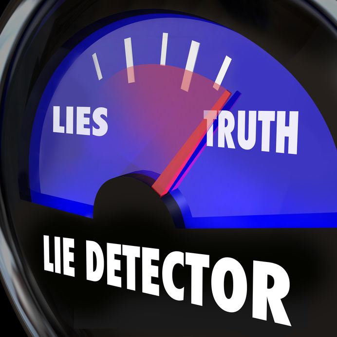 should i lie during the police polygraph exam